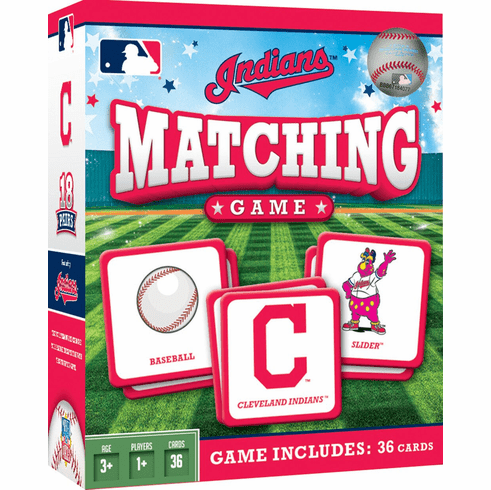 Cleveland Indians Baseball Matching Game<br>ONLY 3 LEFT!