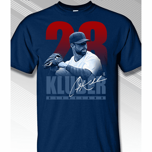 Corey Kluber 28 Impact T-Shirt<br>Short or Long Sleeve<br>Youth Med to Adult 4X