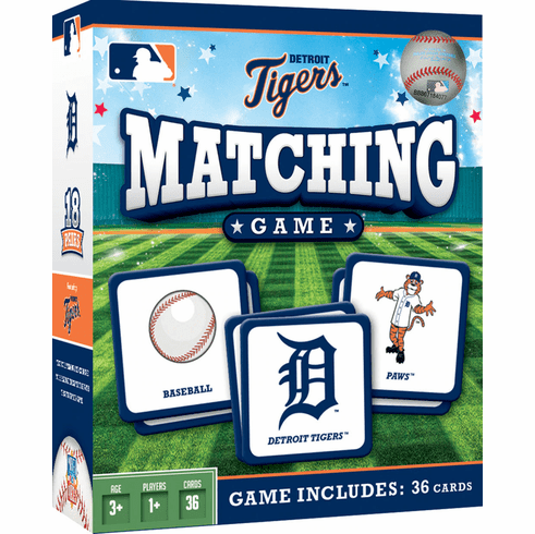 Detroit Tigers Baseball Matching Game<br>ONLY 3 LEFT!