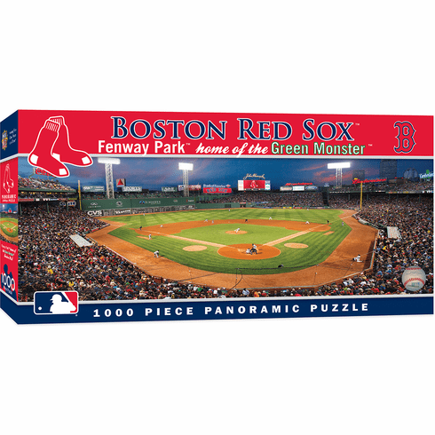Fenway Park Boston Red Sox 1000pc Panoramic Puzzle<br>LESS THAN 8 LEFT!