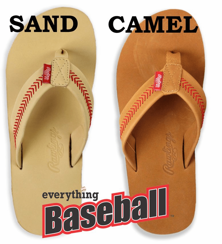 b85c40ac3 Baseball Flip-Flops Sandals Shoes