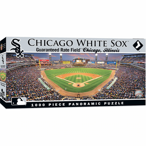 WEEKLY SPECIAL #14<br>Chicago White Sox 1000 Piece Panoramic Baseball Stadium Puzzle<br>LESS THAN 4 LEFT!