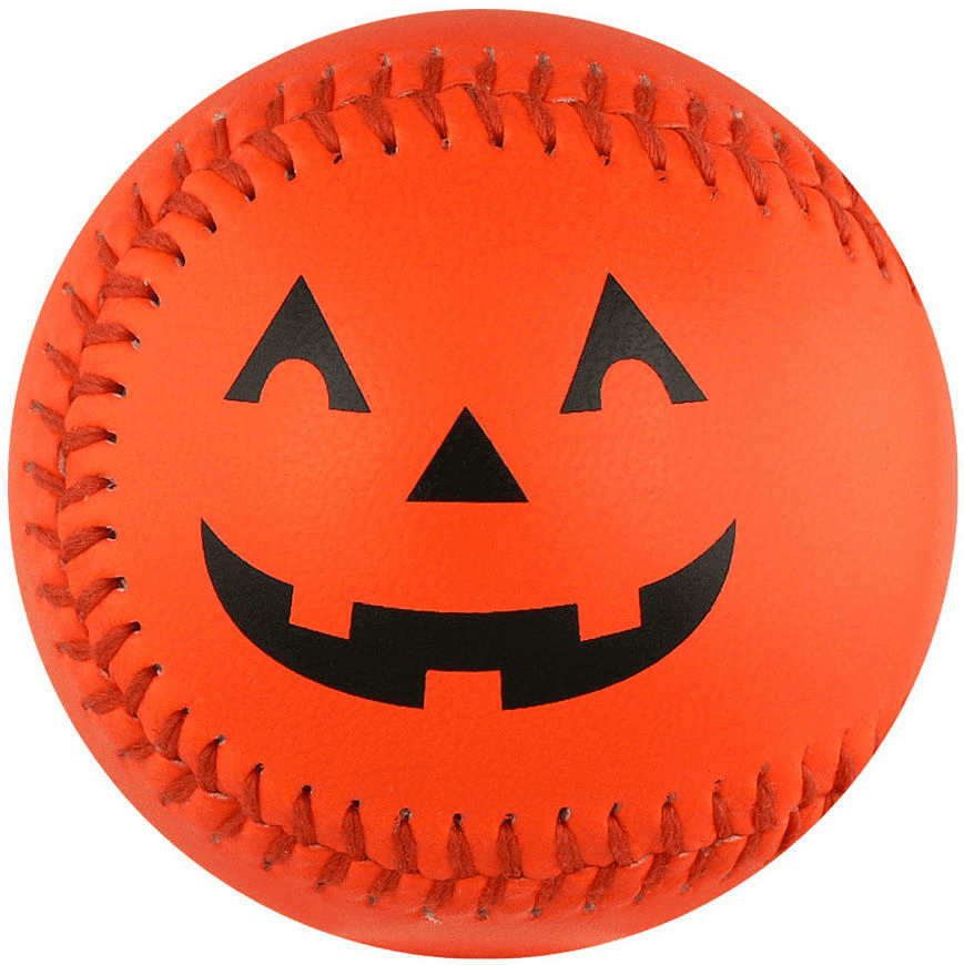 Halloween Orange Pumpkin Baseball<br>BACK IN STOCK!