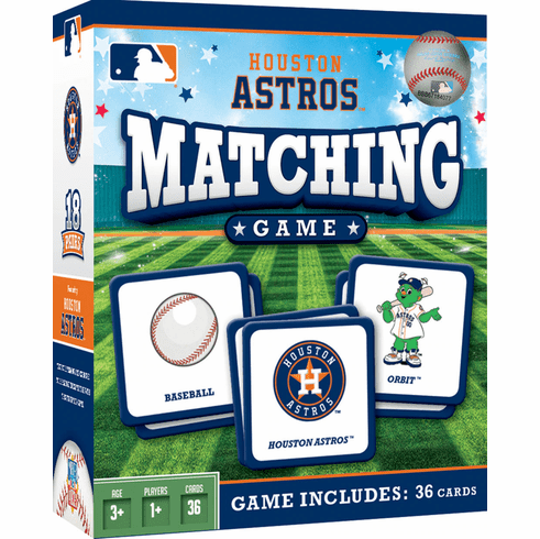 Houston Astros Baseball Matching Game<br>ONLY 2 LEFT!