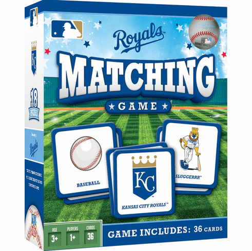 Kansas City Royals Baseball Matching Game<br>ONLY 3 LEFT!