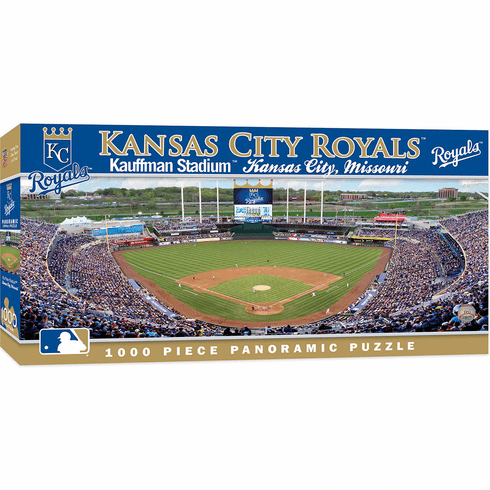 Kansas City Royals 1000 Piece Panoramic Baseball Stadium Puzzle<br>LESS THAN 6 LEFT!
