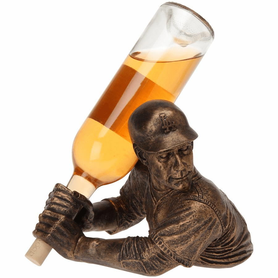 Los Angeles Dodgers Bam Vino Baseball Batter Wine Bottle Holder<br>ONLY 2 LEFT!