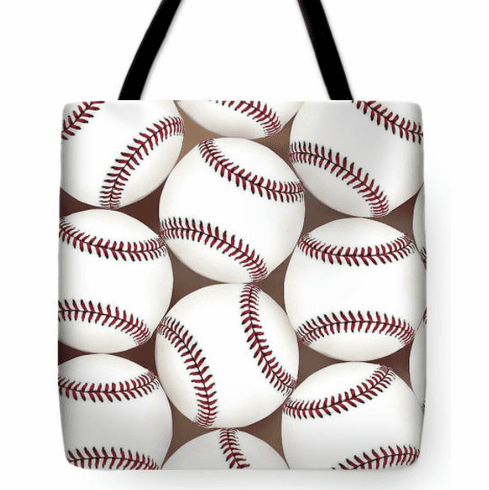 Lots of Baseballs Tote Bag<br>3 SIZES AVAILABLE!