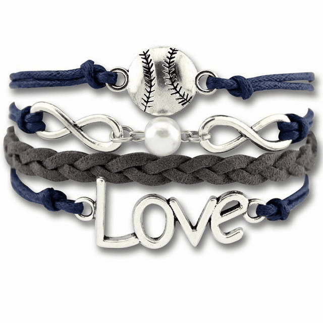 Love Baseball Wrap Bracelet<br>ONLY 3 LEFT!