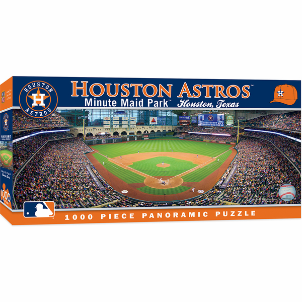 Minute Maid Park Houston Astros 1000pc Panoramic Puzzle<br>LESS THAN 6 LEFT!