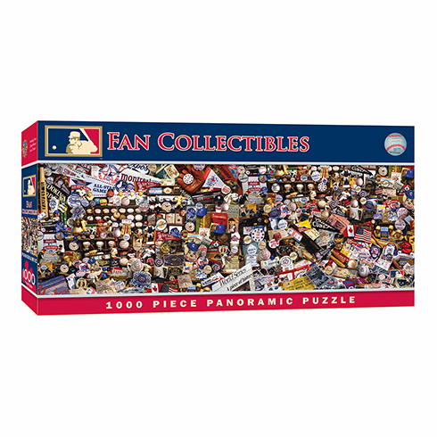 MLB Fan Collectibles 1000pc Panoramic Puzzle