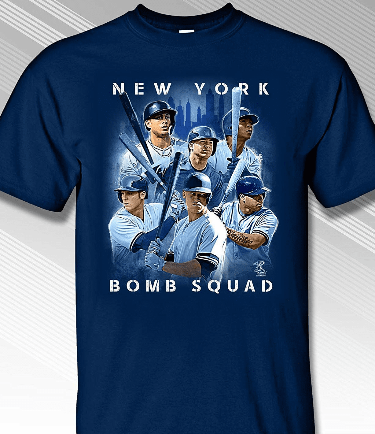 New York Bomb Squad T-Shirt<br>Short or Long Sleeve<br>Youth Med to Adult 4X
