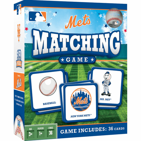 New York Mets Baseball Matching Game<br>ONLY 3 LEFT!