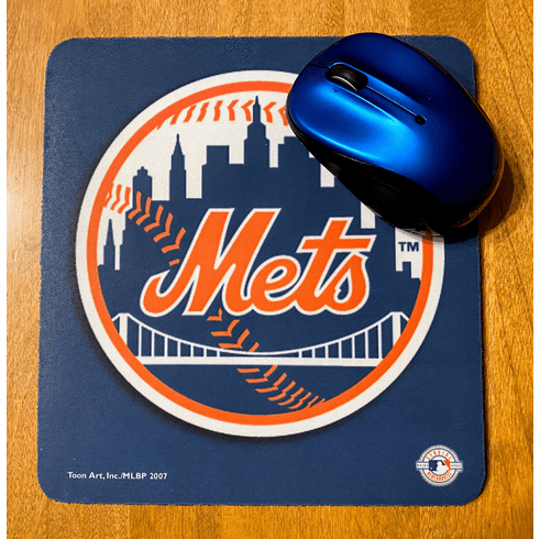 New York Mets Big Logo Mouse Pad<br>ONLY 1 LEFT!