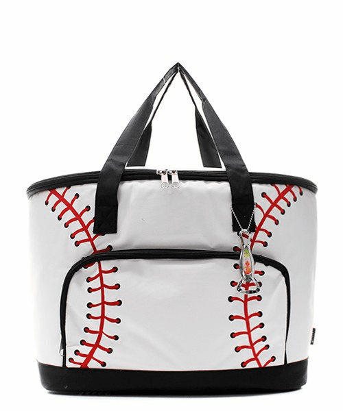 NGIL White Baseball Insulated Cooler Bag<br>ONLY 4 LEFT!