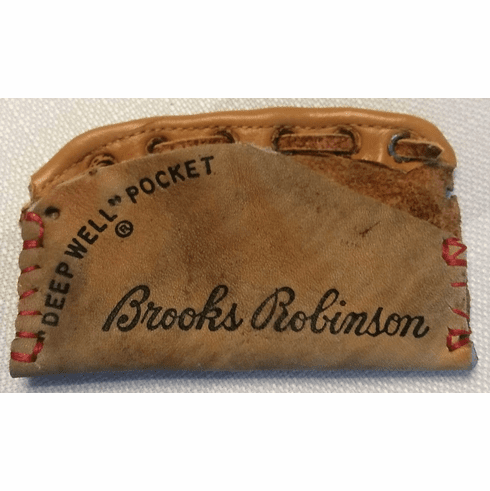 One-Of-A-Kind Brooks Robinson Rawlings Baseball Glove Credit Card ID Case by Lucky Savage<br>CLAIMED!