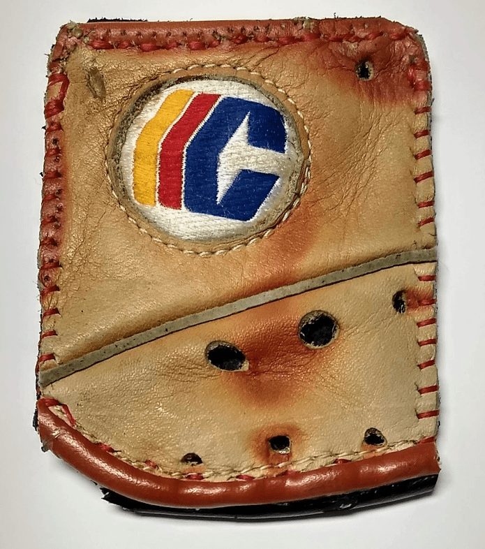 One-Of-A-Kind Cooper Baseball Glove Business Card Holder / Credit Card Wallet by Lucky Savage