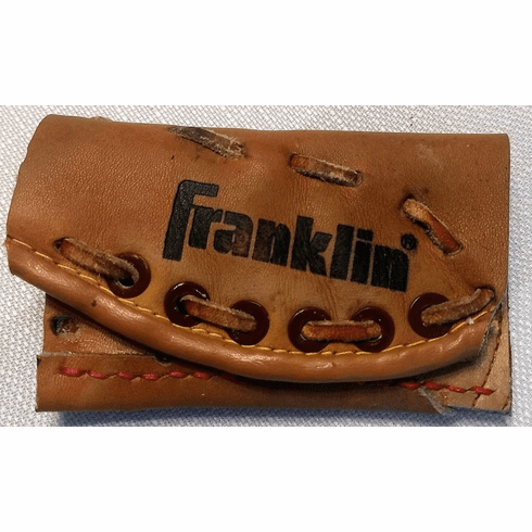 One-Of-A-Kind Franklin Baseball Glove Credit Card ID Case by Lucky Savage