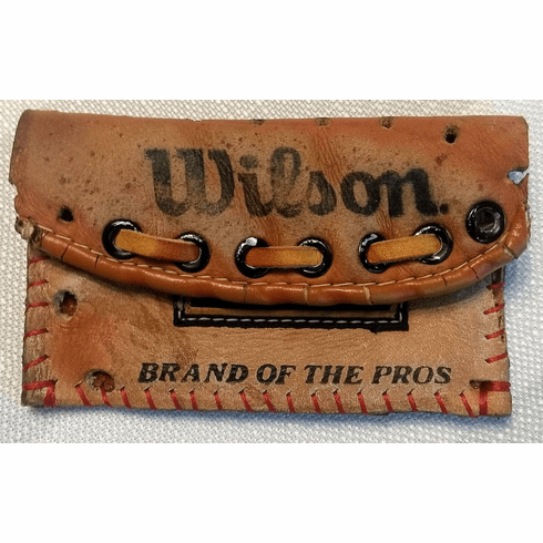 One-Of-A-Kind George Brett Wilson Baseball Glove Credit Card ID Case by Lucky Savage<br>CLAIMED!