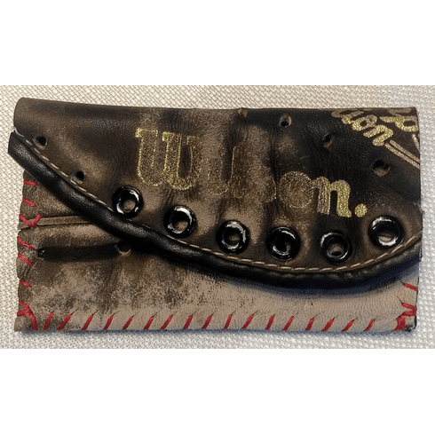 One-Of-A-Kind Kirby Puckett Wilson Baseball Glove Credit Card ID Case by Lucky Savage