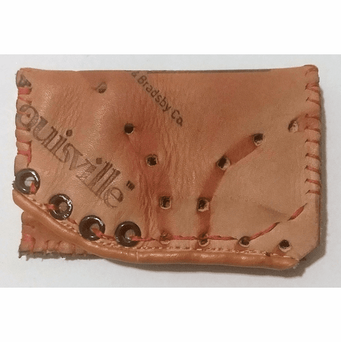 One-Of-A-Kind Louisville Slugger Baseball Glove Credit Card Case / Wallet by Lucky Savage