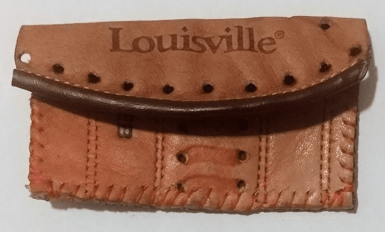One-Of-A-Kind Louisville Slugger Baseball Glove Credit Card ID Case by Lucky Savage