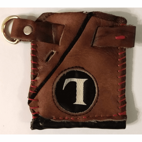 One-Of-A-Kind Louisville Slugger TPX Baseball Glove Business Card Holder / Credit Card Wallet by Lucky Savage