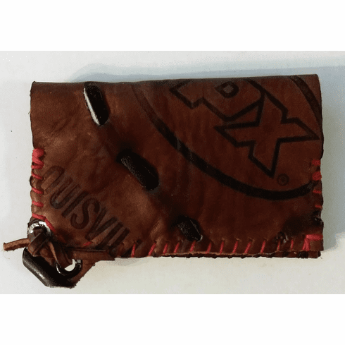 One-Of-A-Kind Louisville Slugger TPX Baseball Glove Credit Card ID Case by Lucky Savage