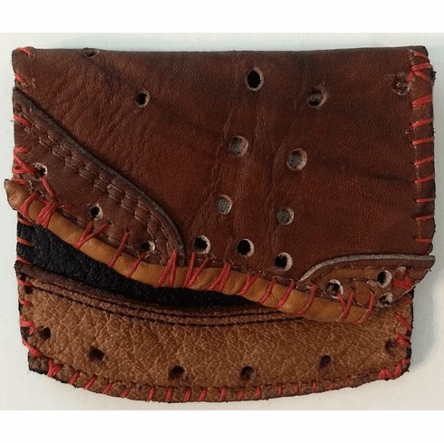 One-Of-A-Kind Nokona Baseball Glove Business Card Holder / Bifold Wallet by Lucky Savage