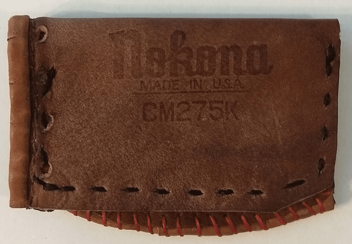 One-Of-A-Kind Nokona Baseball Glove Credit Card ID Case by Lucky Savage