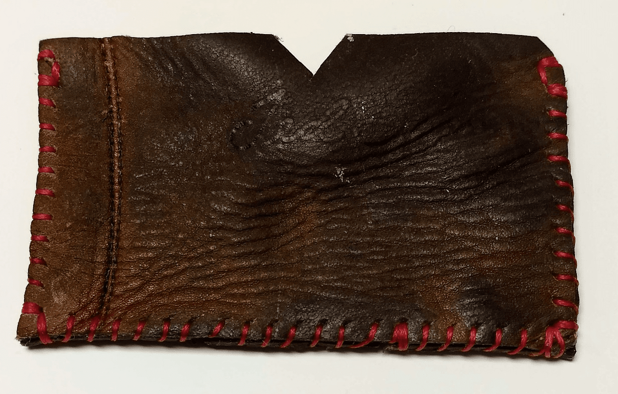 One-Of-A-Kind Rawlings Baseball Catcher's Mitt Business Card Holder / Credit Card Wallet by Lucky Savage