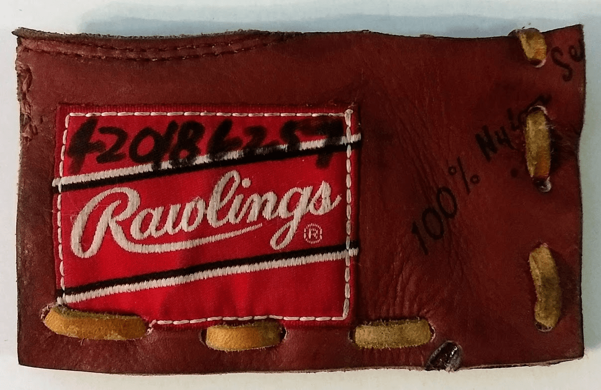 One-Of-A-Kind Rawlings Baseball Glove Business Card Holder / Credit Card Wallet by Lucky Savage