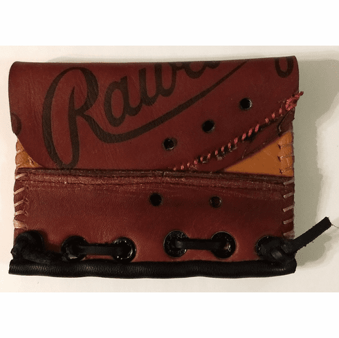 One-Of-A-Kind Rawlings Baseball Glove Business Card Holder / Wallet by Lucky Savage<br>CLAIMED!