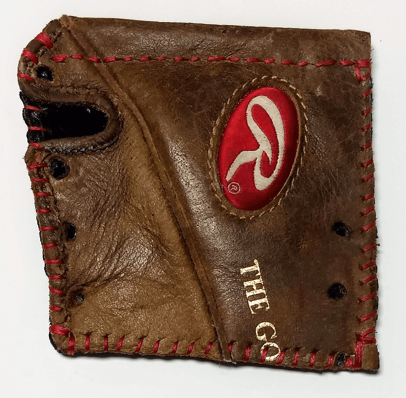 One-Of-A-Kind Rawlings Baseball Glove Business Card Holder / Wallet by Lucky Savage