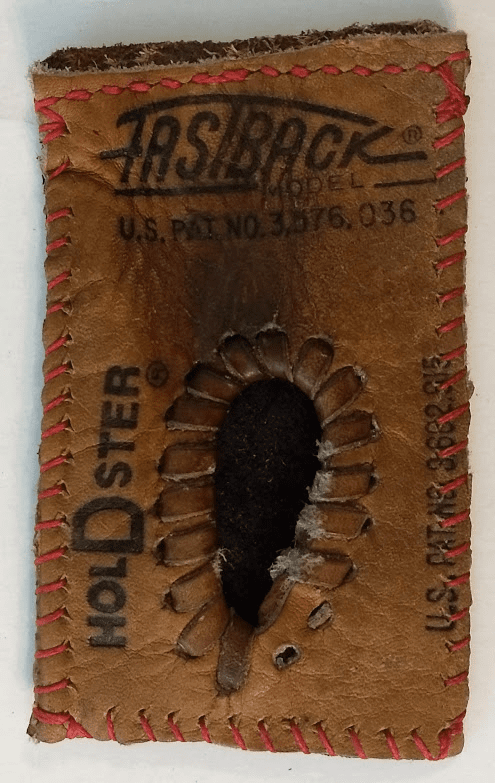 One-Of-A-Kind Rawlings Fastback Baseball Glove Business Card Holder / Credit Card ID Case by Lucky Savage