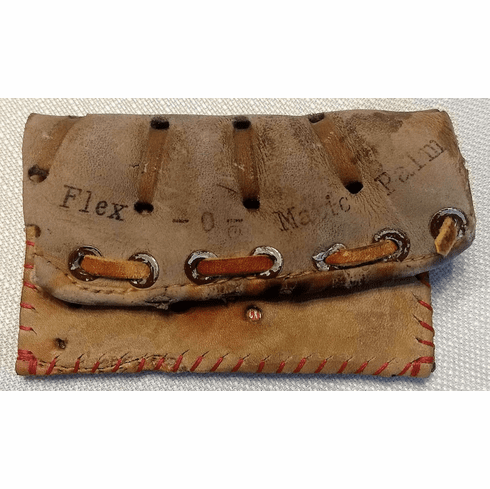 One-Of-A-Kind Tony Conigliaro Baseball Glove Credit Card ID Case by Lucky Savage