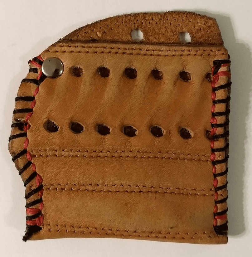 One-Of-A-Kind Wilson Baseball Glove Business Card Holder / Credit Card Wallet by Lucky Savage