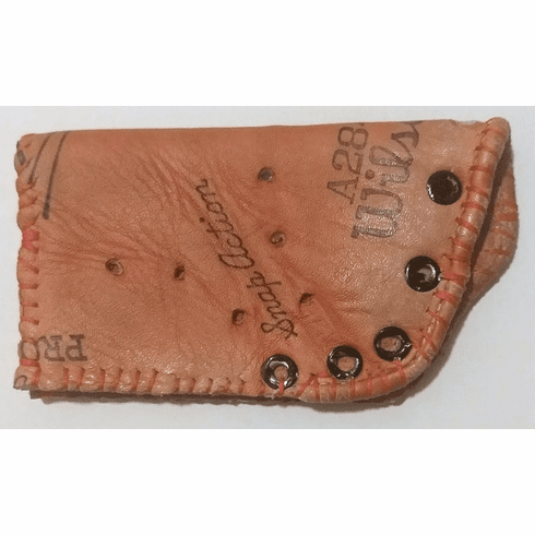 One-Of-A-Kind Wilson Baseball Glove Credit Card ID Case by Lucky Savage