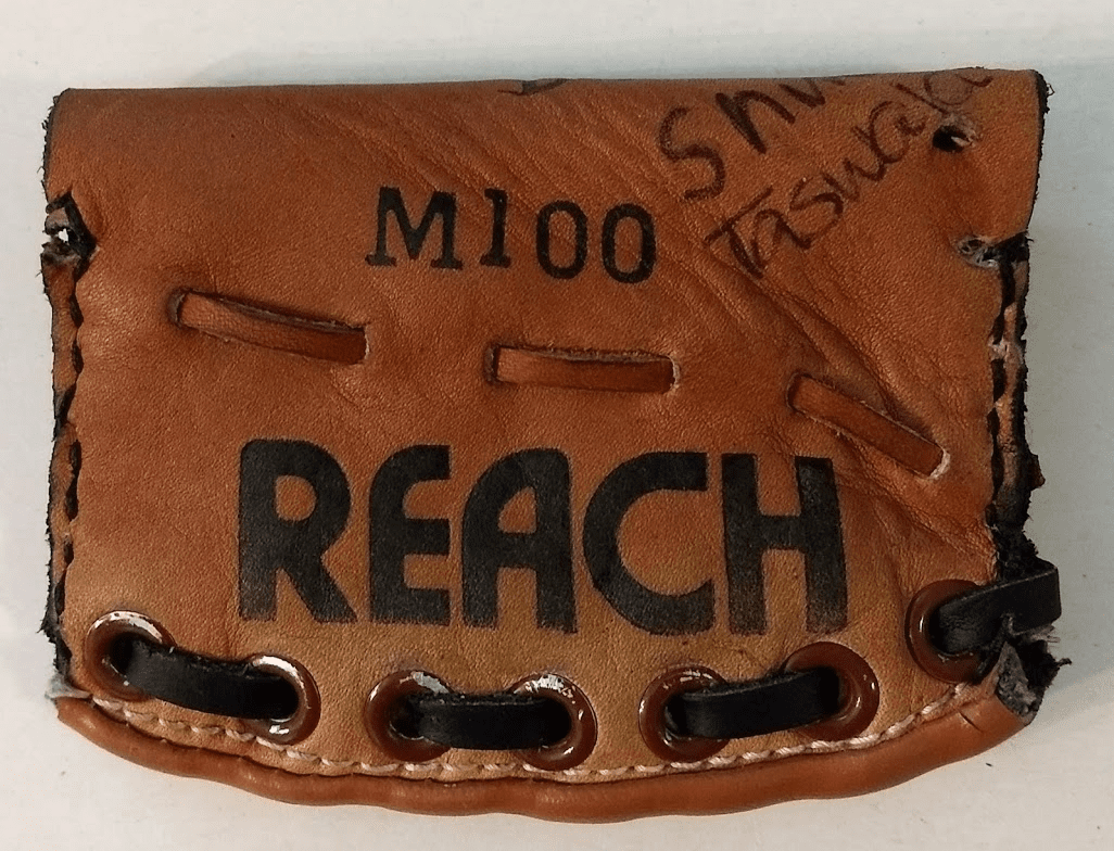 One-Of-A-Kind Reach Baseball Glove Credit Card ID Case by Lucky Savage