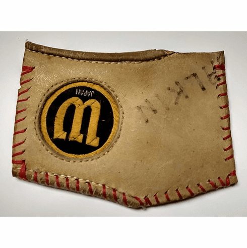 One-Of-A-Kind Wilson Japan Baseball Glove Credit Card Wallet by Lucky Savage