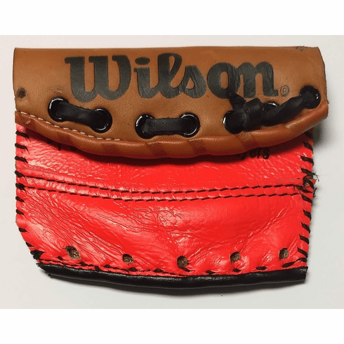 One-Of-A-Kind Ron Guidry Wilson/Rawlings Baseball Glove Credit Card Case / Small Wallet by Lucky Savage<br>CLAIMED!
