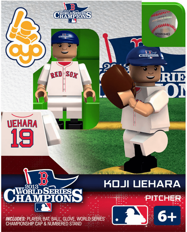 OYO SALE!<br>Koji Uehara Boston Red Sox 2013 World Series Champions OYO Mini Figure<br>ONLY 1 LEFT!