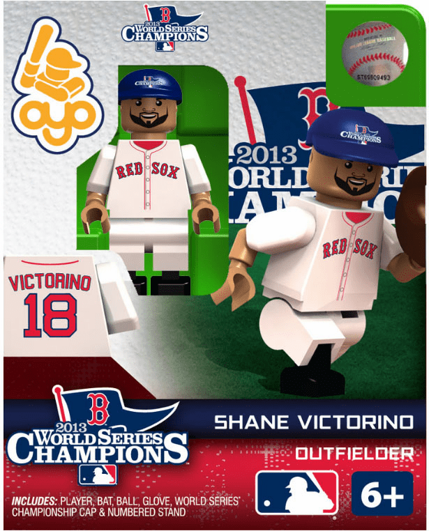OYO SALE!<br>Shane Victorino Boston Red Sox 2013 World Series Champions OYO Mini Figure<br>ONLY 1 LEFT!