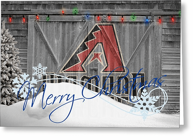 Personalized Arizona Diamondbacks Christmas and Holiday Cards<br>5 DESIGNS!