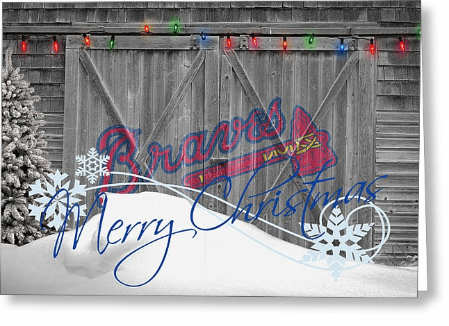 Personalized Atlanta Braves Christmas and Holiday Cards<br>6 DESIGNS!