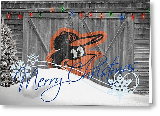 Personalized Baltimore Orioles Christmas and Holiday Cards<br>5 DESIGNS!