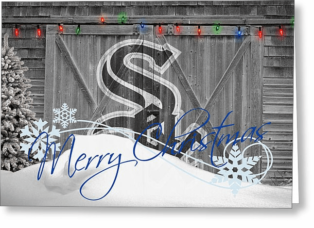 Personalized Chicago White Sox Christmas and Holiday Cards<br>5 DESIGNS!
