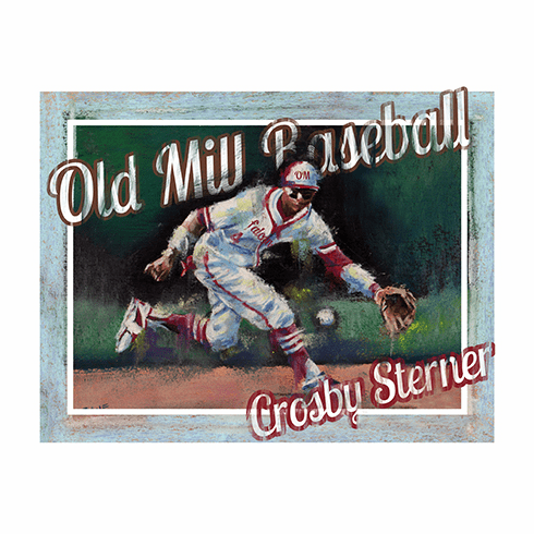 Personalized Custom Baseball Player Art - Infielder