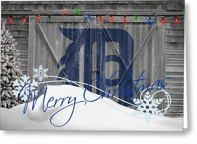 Personalized Detroit Tigers Christmas and Holiday Cards<br>5 DESIGNS!