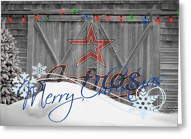 Personalized Houston Astros Christmas and Holiday Cards<br>5 DESIGNS!